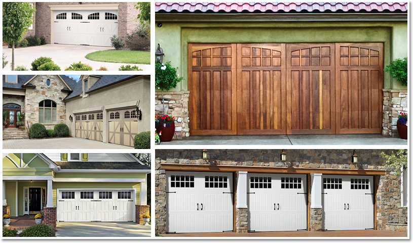 new garage door models